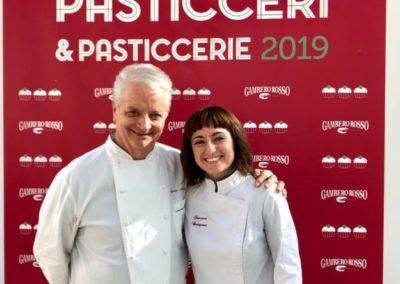 Francesca Castignani e Iginio Massari