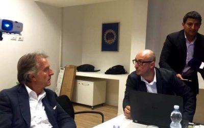 Con Luca Cordero di Montezemolo per Roma 2024