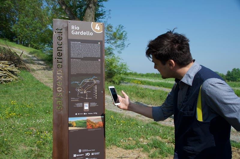 segnaletica interattiva turistica qr code