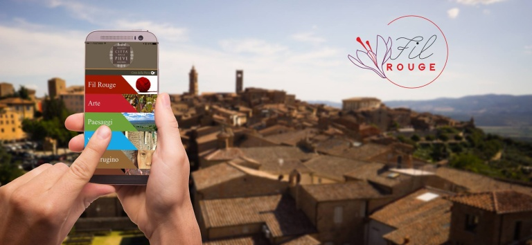 Filrouge, la nuova app turistica di Città della Pieve