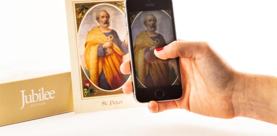 Holy Card – I Santini Interattivi di Watican