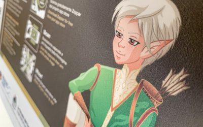 Simyon, l'elfo di Terra Cimina