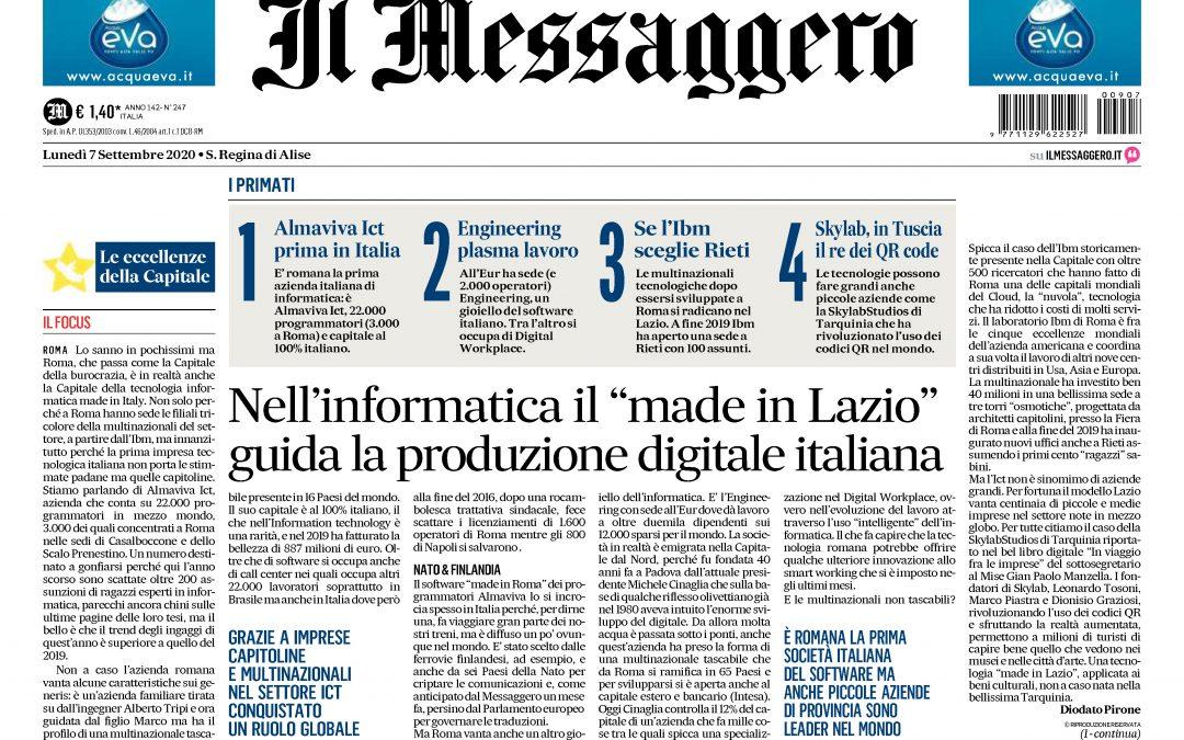 Skylab Studios tra le aziende che guidano la produzione digitale italiana