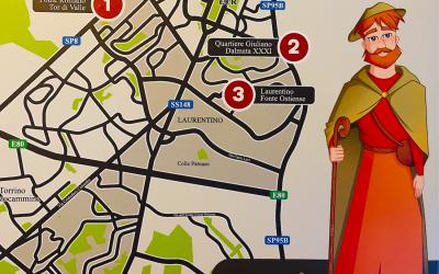 Nono: il pellegrino romano in realtà aumentata