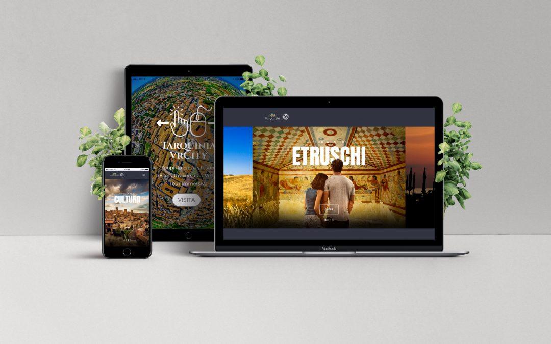 Tarquinia: 3000 anni di storia in un sito internet