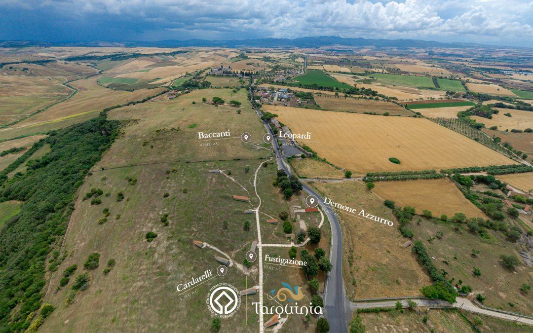 Il patrimonio Unesco di Tarquinia in VR